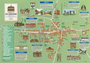 Amersham Society Town Map, 2018
