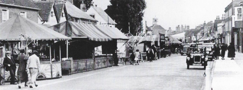 Amersham Fair in the 1930s. 50 years of the Amersham Society, 2006