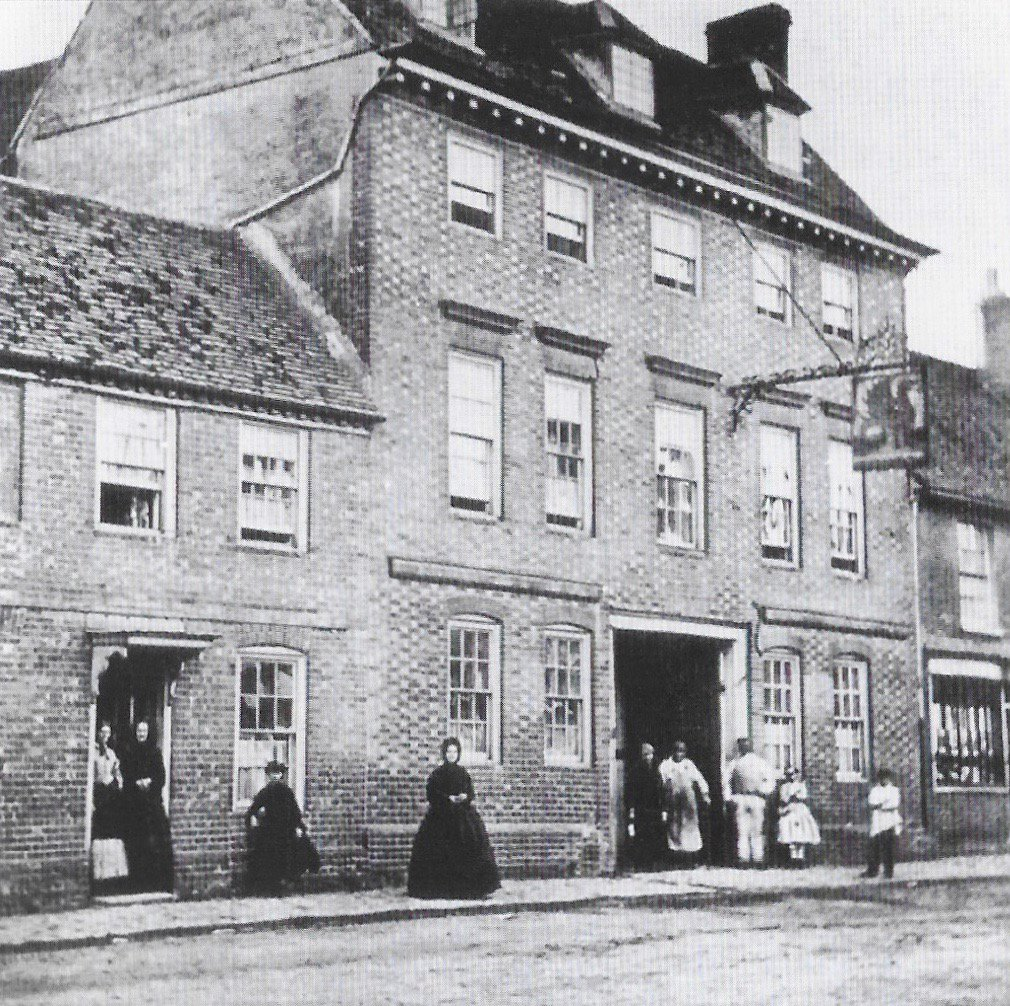 The Griffin Hotel in the 1880s. 50 years of the Amersham Society, 2006