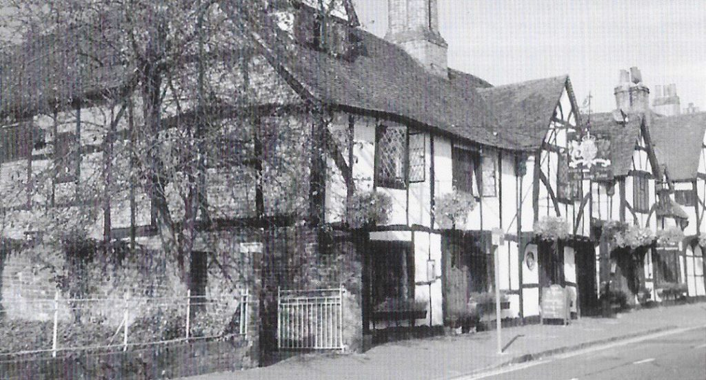 The King's Arms, one of Amersham's most picturesque hotels. 50 years of the Amersham Society, 2006