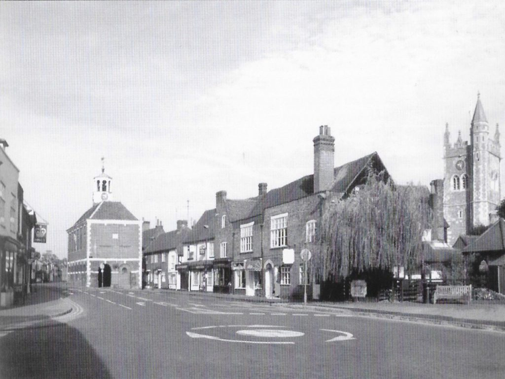 Old town Amersham today. 50 years of the Amersham Society, 2006