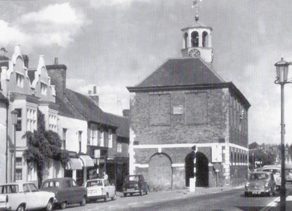 The Market Hall about 1970. 50 years of the Amersham Society, 2006