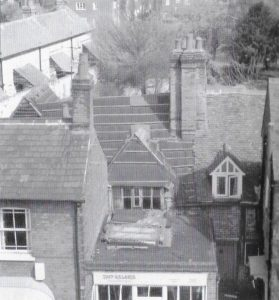 49 High Street roof in 1984. 50 years of the Amersham Society, 2006