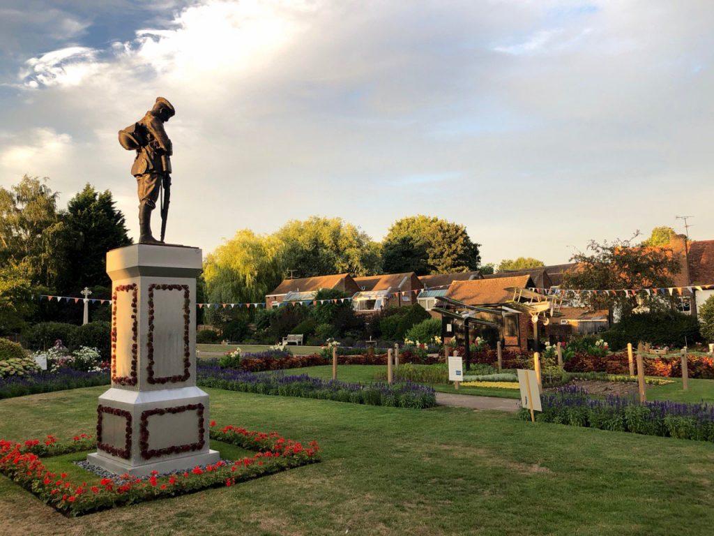 Memorial Gardens, Aug 2018