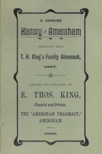 History of Amersham by T. King