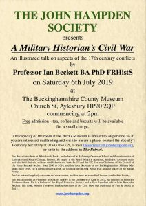 A Military Historian's Civil War @ Bucks County Museum