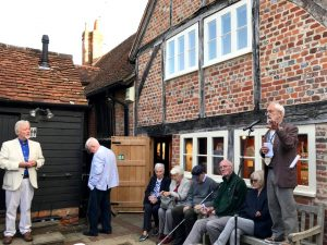 Peter Borrows gives an update on the Society's heritage project