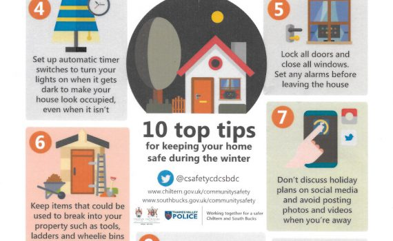 10 top tips for keeping your home safe