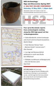 HS2 Archaeology 2021