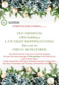 Late Night Shopping Evening @ Old Amersham